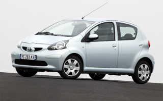 Toyota aygo двигатель характеристики