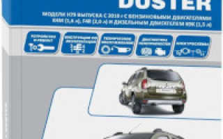 Руководства по эксплуатации, обслуживанию и ремонту Renault Duster