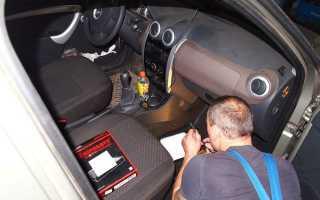 Установка и замена салонного фильтра на Lada Largus