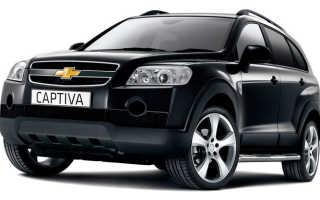 Расход топлива Chevrolet Captiva