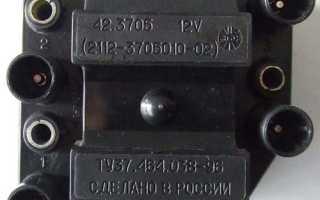 Трамблёр и модуль зажигания ВАЗ 2109