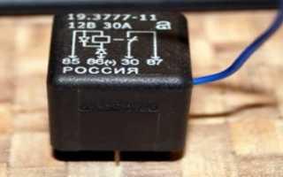 Где находится реле бензонасоса на 16-ти клапанной инжекторной ВАЗ-2112