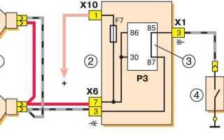 Схема звукового сигнала и его ремонт