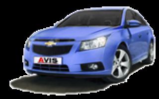 Техническое обслуживание Chevrolet Cruze (J305/J308)