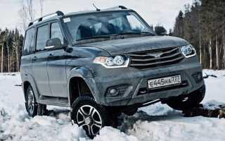 Двигатели УАЗ Патриот стали надёжнее