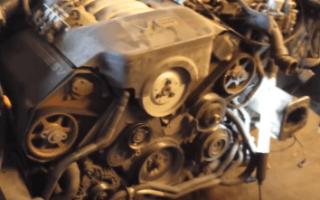 Замена ремня ГРМ Ауди А6 С5 с двигателем 2