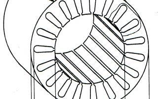 Что такое виток в асинхронного двигателя