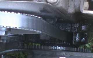 Замена переднего сальника коленвала