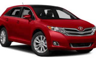 Расход топлива Toyota Venza