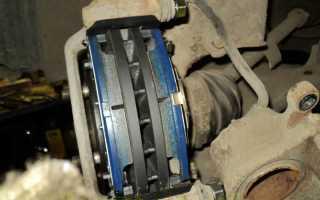 Замена тормозных дисков и колодок Хендай Элантра (Hyundai Elantra) своими руками
