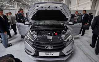 О двигателях Lada X Ray