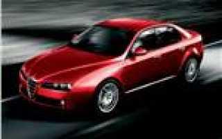 Альфа ромео 159 характеристики двигателя