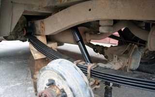Рессора задняя УАЗ 469: эксплуатация и замена