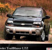Chevrolet trailblazer характеристики двигателя