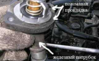 Замена термостата мазда 6