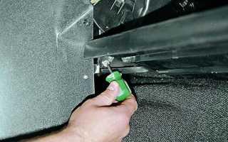 Как снять и заменить моторчик печки на ВАЗ-2107, 2105 и 2104