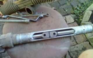 Ремонт рулевой рейки на ВАЗ-2110, 2111, 2112