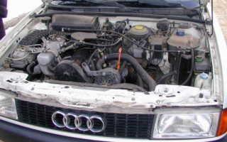 Ремонт двигателя Audi 80