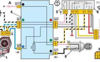 Устройство и ремонт дворников на ВАЗ 2107