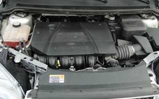 Форд Фокус 2 двигатель 1