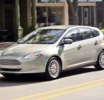 Замена масла у Ford Focus III бензиновый двигатель 1