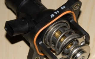 Замена термостата на Шкода Октавия Тур (двигатель BFQ)