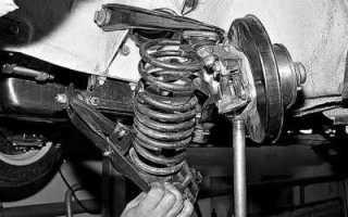 Инструкция по замене пружин передней подвески ВАЗ 2107