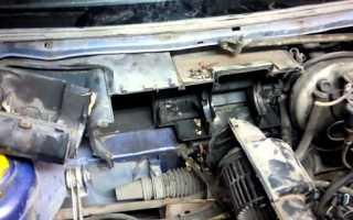 Как заменить радиатор печки ВАЗ 2110 (старого образца)