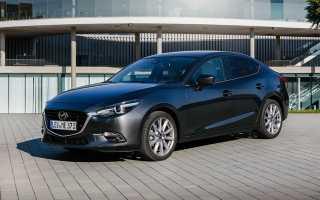 Замена салонного фильтра Mazda 3 BM с 2013 г