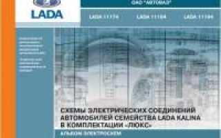 Руководства по эксплуатации, обслуживанию и ремонту Lada Kalina