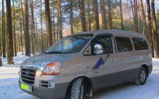 Hyundai starex большой расход топлива