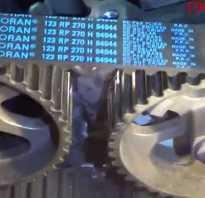 Замена ремня ГРМ на Рено канго 1