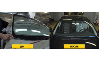 Замена лобовых стекол Kia Rio (КИА РИО) за 1 час в СПБ