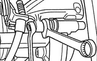 Замена задних тормозных колодокAudi A6 C5