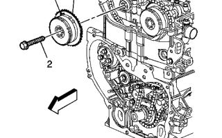 Замена цепи ГРМ Шевроле Каптива с бензиновым двигателем 2