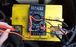 Напряжение автомобильного аккумулятора: нормы, правила измерения