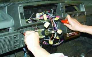 Как правильно снять панель приборов на ВАЗ-2109